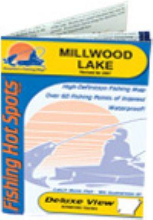 East lake tohopekaliga waterproof map fishing hot spots for Lake dardanelle fishing report