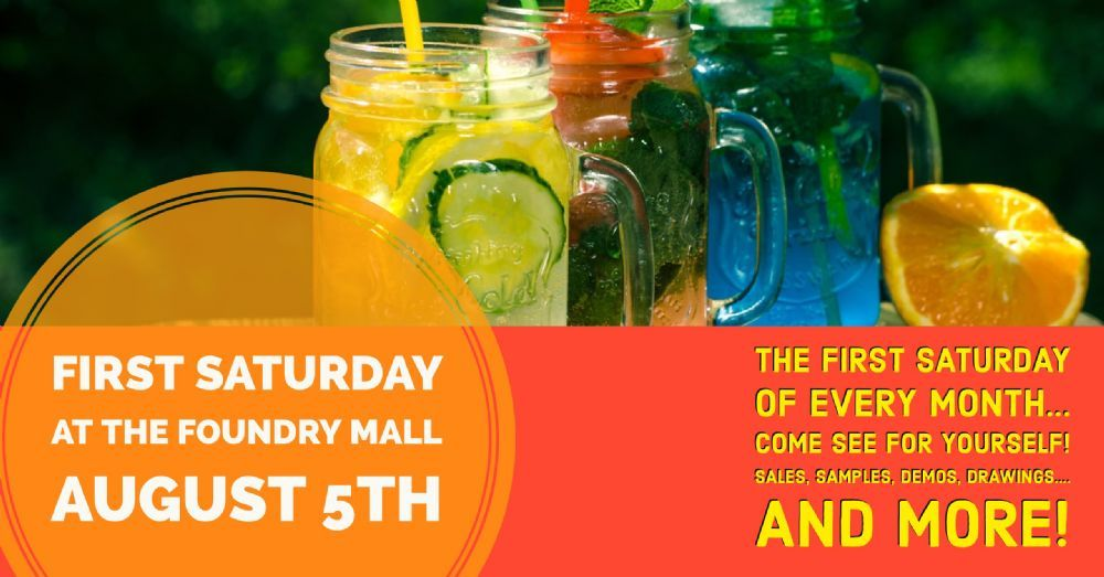 First Saturday at The Foundry Mall