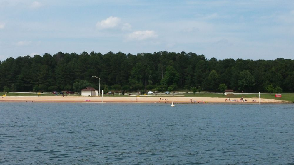 Earl cook beach beach at west point lake for West point lake fishing