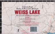 Lake Weiss, Alabama Paper Map (Carto-Craft)