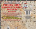 Millers Ferry - William B. Dannelly Reservoir, Alabama Paper Map (Carto-Craft)