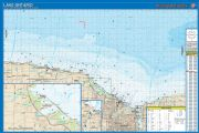 Lake Ontario - South Central Section (Monroe County) Waterproof Map (Fishing Hot Spots)