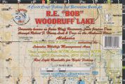 R.E. Bob Woodruff Lake Waterproof Map (Carto-Craft)