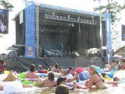 Lake Martinside view stage