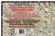 Black Warrior River and Bankhead Lake, Alabama Waterproof Map (Carto-Craft)