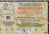Mitchell Lake, Alabama Paper Map (Carto-Craft)