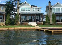 """Longview"" Lakefront Home in Stillwaters"